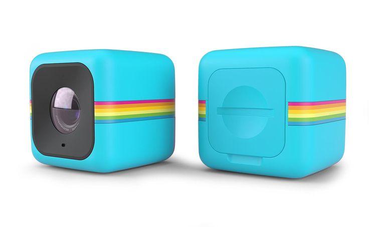 Pirteän värinen actioncamera. #powerfi #lahjaidea