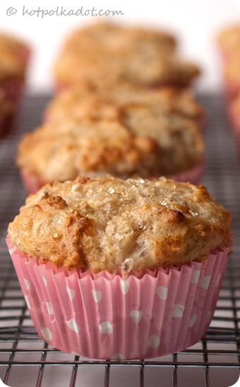 Cinnamon Cottage Cheese Muffins   Very thick batter but extremely moist when baked.  I added more cinnamon and really like these.
