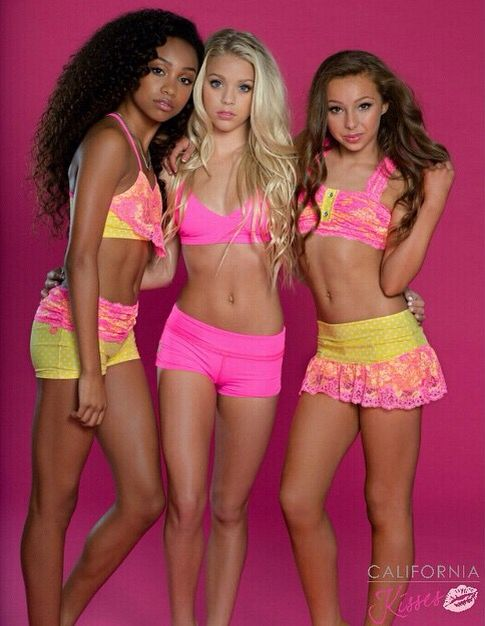 lingerie califrnia teens models