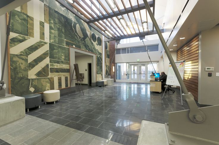 AIMS Community College, Platte Building, Entry  Architecture:  hord   coplan   macht  Interior Design: hord   coplan   macht