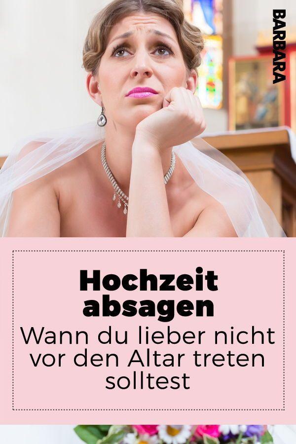 Hochzeit Absagen Wann Du Lieber Nicht Vor Den Altar Treten Solltest Hochzeit Gesundheit Und Schonheit Bauchschmerzen