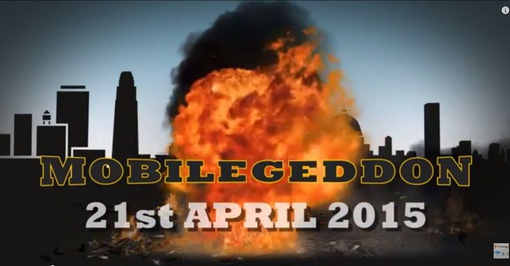 Don't be a victim of Mobilegeddon. Click http://sbr-technologies.com/what-is-mobilegeddon/  to find how you can survive it  and enjoy an uninterrupted flow of mobile traffic even after April 21, 2015. #Mobilegeddon #GoogleMobilegeddon #Mobilefriendly