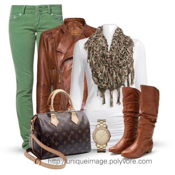 Casual Outfit: Casual Outfit, Fashion, Outfit Ideas, Style, Clothes, Winter Outfits, Leather Jackets, Fall Winter