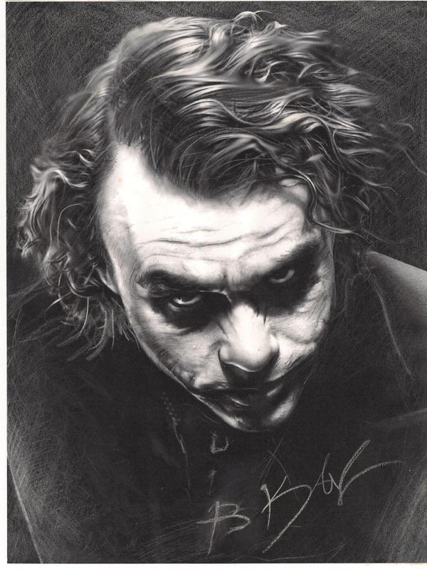 joker ''Heath Ledger'' by whitekhan25.deviantart.com