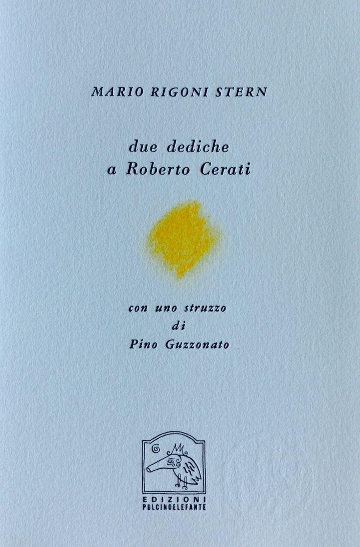 7175. Mario Rigoni Stern, Due dediche a Roberto Cerati - Con uno struzzo di Pino Guzzonato_pag 1