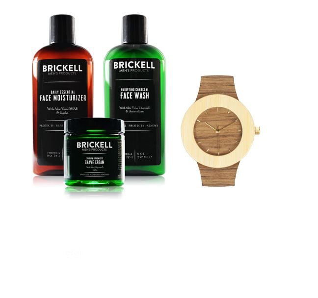 Win a Luxury Men's Watch & a Year's Worth of Men's Grooming Products