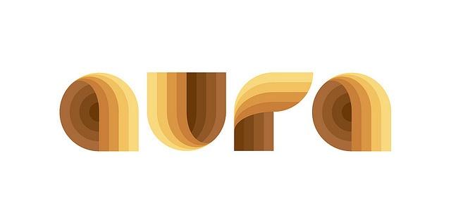 logo aura, via Flickr.