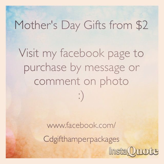 Mother's Day Gifts visit www.facebook.com/Cdgifthamperpackages