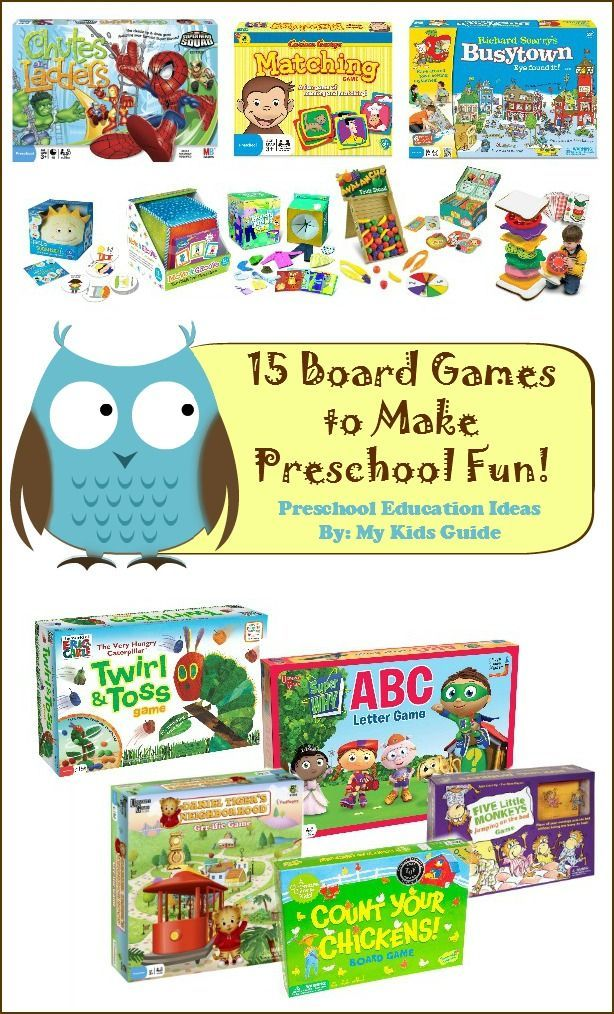 best board games for preschoolers