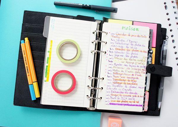 Comment j'utilise mon planner pour l'organisation de la maison en alliant la…