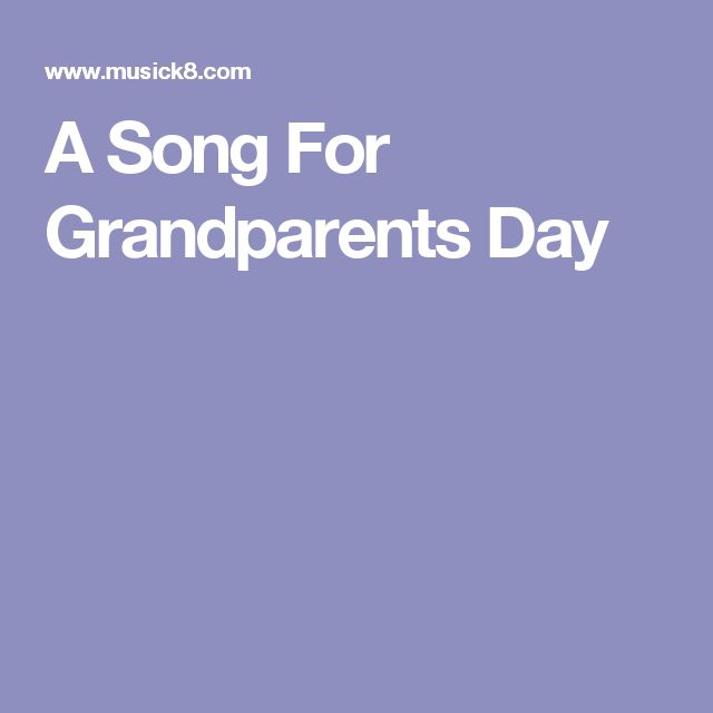 grandparents day song - 640×640