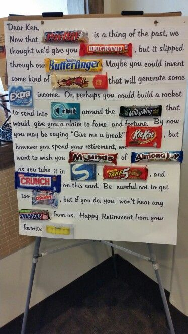 Retirement party idea