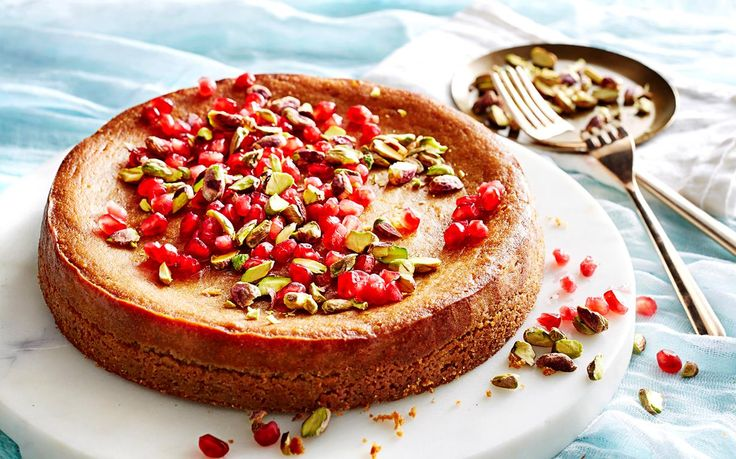 This Persian cake is easy to make for a beautiful morning or afternoon tea dessert. It's made with almond meal so it's both flourless and gluten free - recipe from The Australian Women's Weekly.