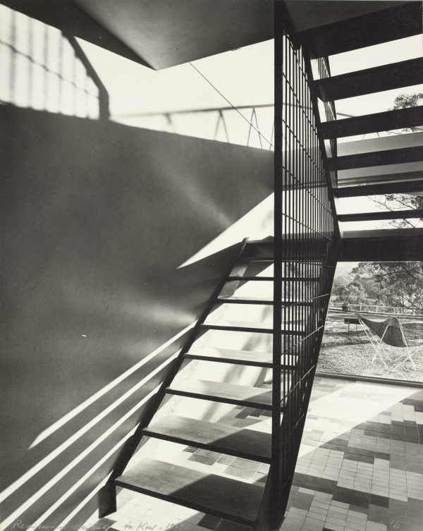 Residential Stairwell. Kew/ Melbourne, Australia 1959.  Photograph by Mark Strizic.