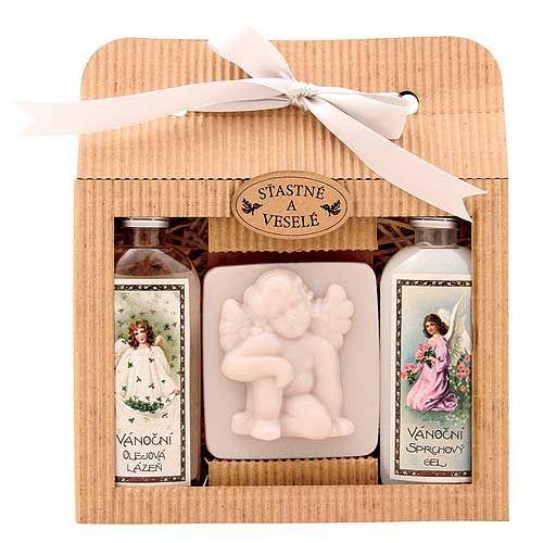 Originální voňavý vánoční dárek pro vaše blízké. Vánoční kosmetika.