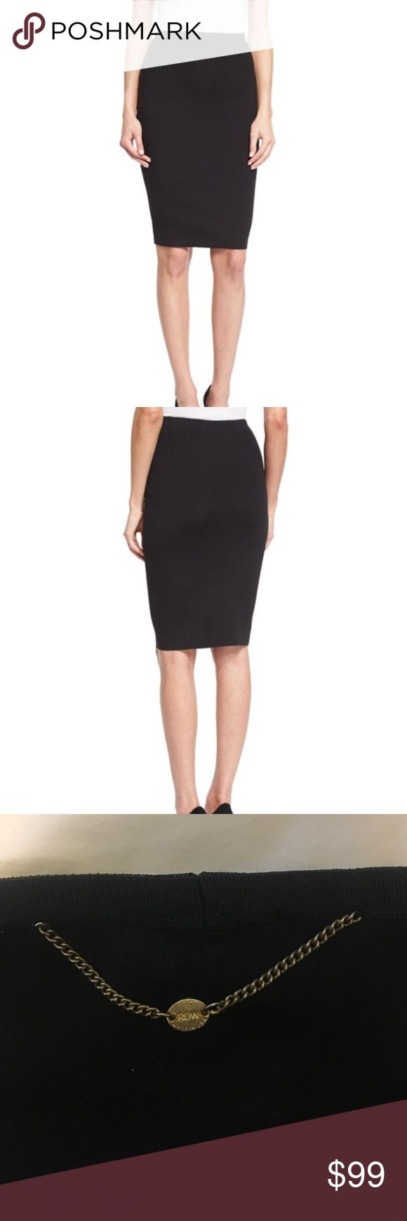 The Row Black Pencil Skirt Gorgeous black pencil skirt. Slip on and be a BOSS The Row Skirts Pencil