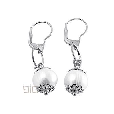 Σκουλαρίκια με μαργαριτάρια - Σκουλαρίκια με μαργαριτάρια