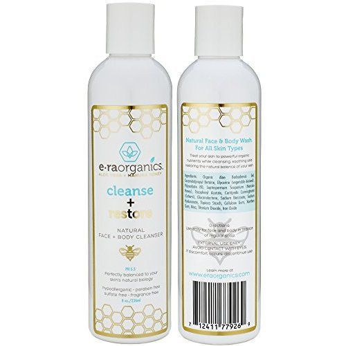 Amazon.com: Tea Tree Oil Face Cleanser & Body Wash for Dry, Oily, Acne Prone Skin & Rosacea 8oz Natural & Organic Facial Wash to Moisturize, Nourish, Soothe Redness & Inflammation: Beauty