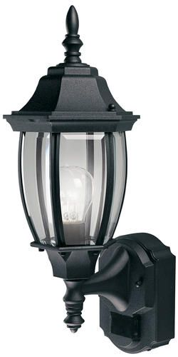 Shop for the Heath Zenith Black 1 Light 180 Degree Motion Activated  Six Sided Diecast Aluminum Security Wall Sconce  Black with Curved Beveled  Glass and  44 best Outdoors Lighting images on Pinterest   Outdoor lighting  . Menards Exterior Lighting. Home Design Ideas