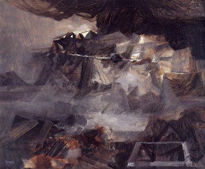 Alejandro Obregón, Paisaje para un cóndor, 1958