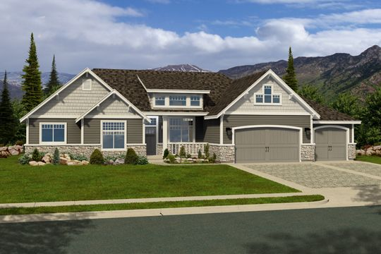 Great rambler home someday pinterest home design for Rambler house plans utah