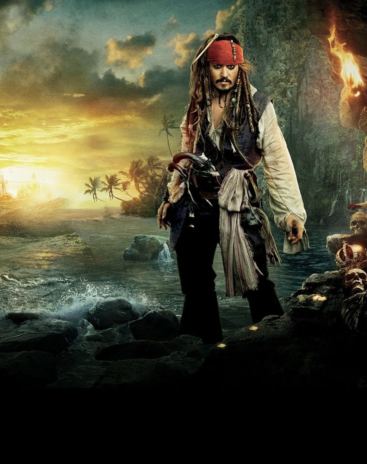 Captain Jack Sparrow by MissNelly.deviantart.com on @deviantART