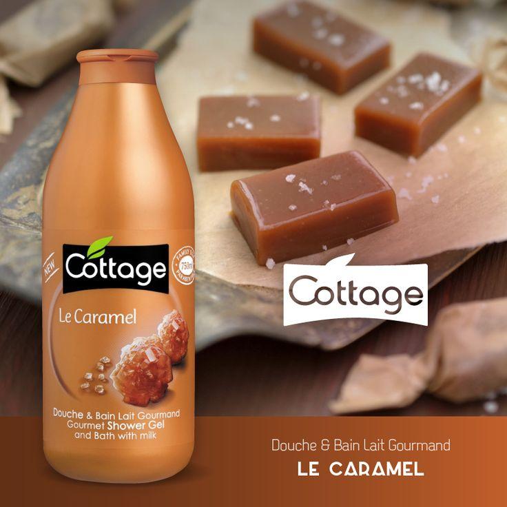 Douche & Bain Lait Gourmand Le Caramel - Cottage
