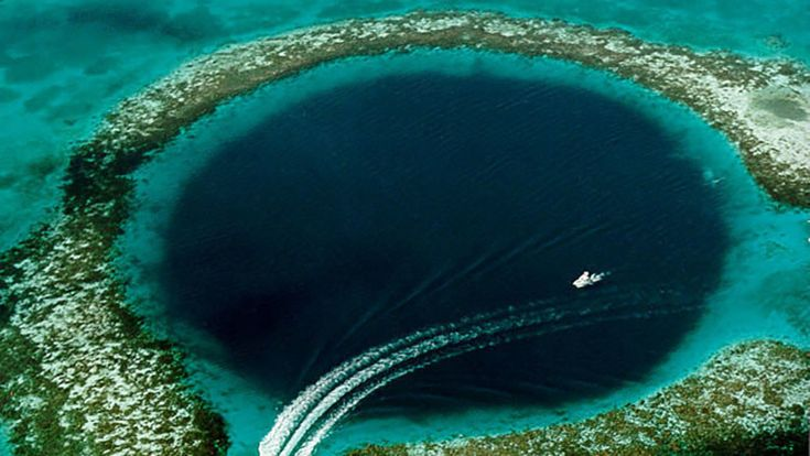 ICYMI: Revelan qué oculta el agujero azul de la costa de Australia
