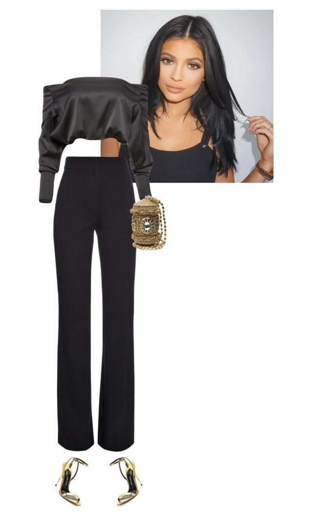 Untitled #561 by drenchedinglam on Polyvore featuring polyvore fashion style Anthony Vaccarello Derek Lam Tom Ford women's clothing women's fashion women female woman misses juniors