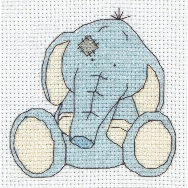 My Blue Nose Friend Cross Stitch Toots | Hobbycraft