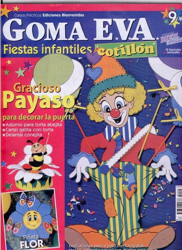Revistas de manualidades Gratis: Fiestas infantiles en Goma Eva