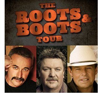"""Sammy Kershaw, Aaron Tippin & Joe Diffie Hit The Road For """"Roots & Boots"""" Tour"""