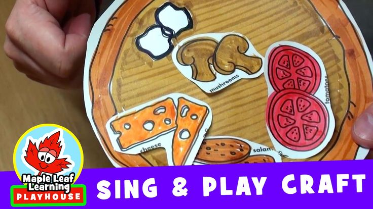 Let's Make a Pizza | Sing and Play Craft | Maple Leaf Learning Playhouse