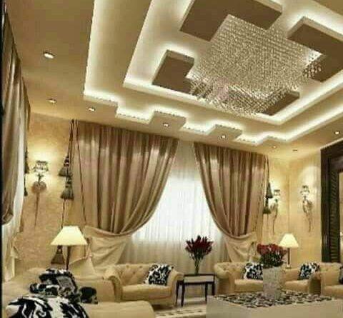 اشكال اسقف جبس بورد غرف وصالات وريسبشن متنوعة قصر الديكور False Ceiling Design Ceiling Design Modern House Ceiling Design