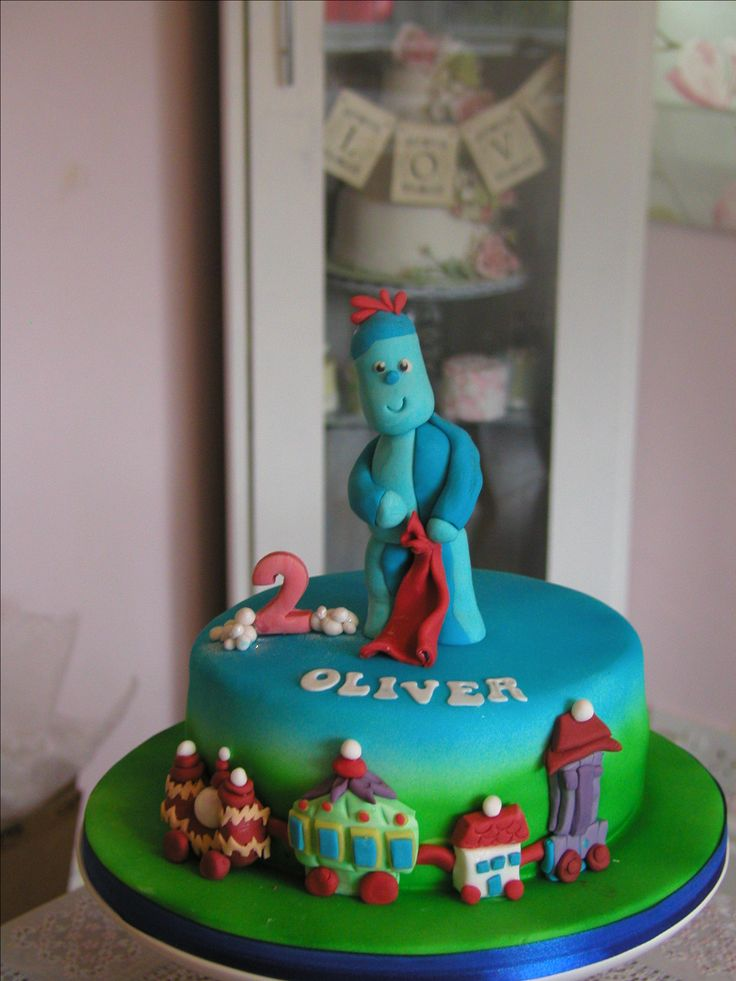 Iggle piggle cake night garden birthday