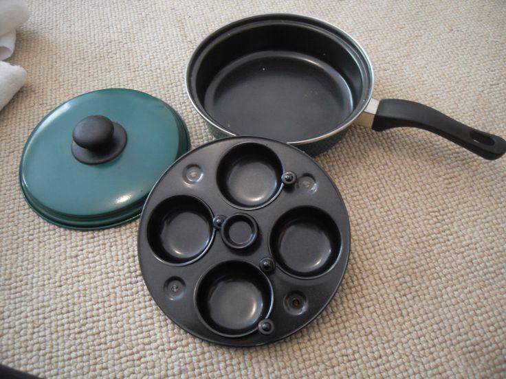 Egg Poacher Pan With Lid Using Kitchen Egg Poacher