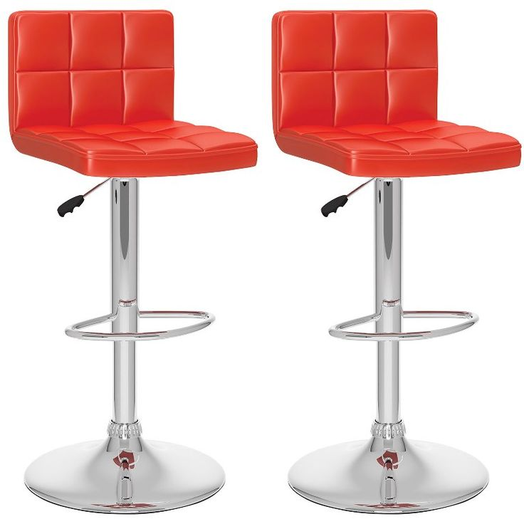 Interior Graceful Red Wooden Bar Stools With Backs from The Use Of Red bar Stools  sc 1 st  Pinterest & Best 25+ Red bar stools ideas on Pinterest | Retro bar stools ... islam-shia.org