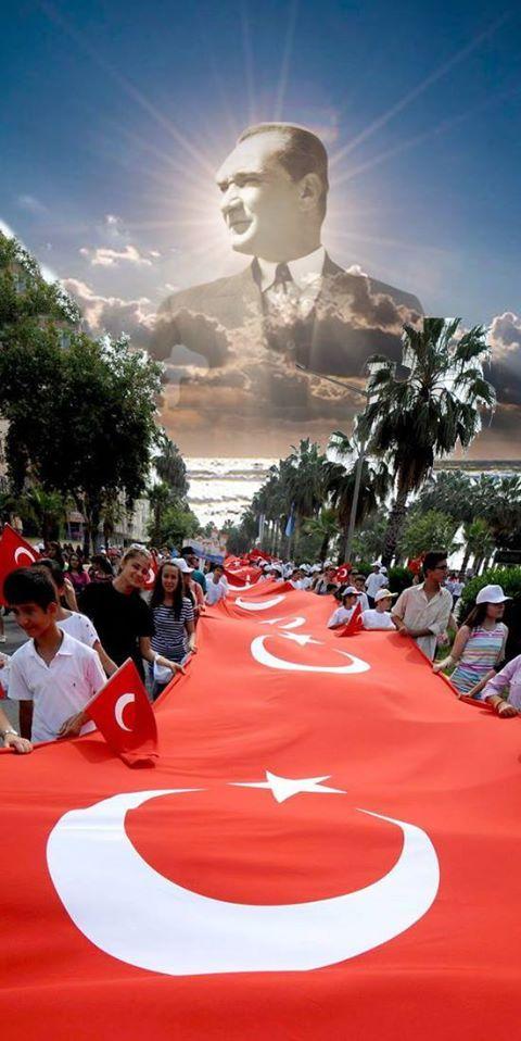 Atatürk'ün evlatlarına. <3 Yarınımız bu gün den iyi olsun.
