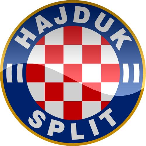 hnkhajduksplithdlogo.Croatia FOOTBALL SOCCER WORLD