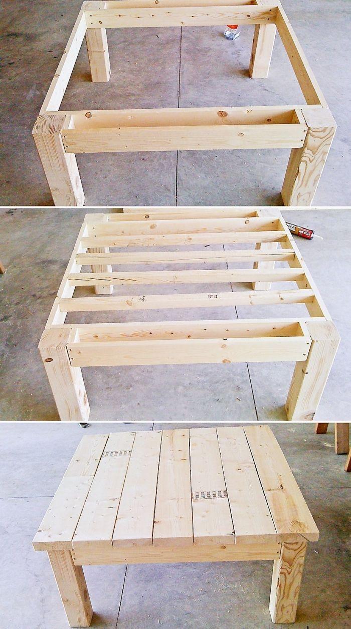 ▷ 1001 + modèles de table de jardin en palette à faire soi-même ...