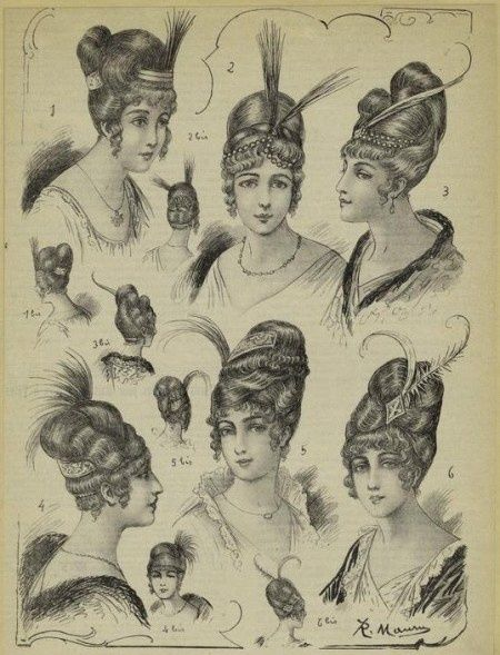 Hairstyles of 1804 and hair jewellery comb and accessories. Description from pinterest.com. I searched for this on bing.com/images