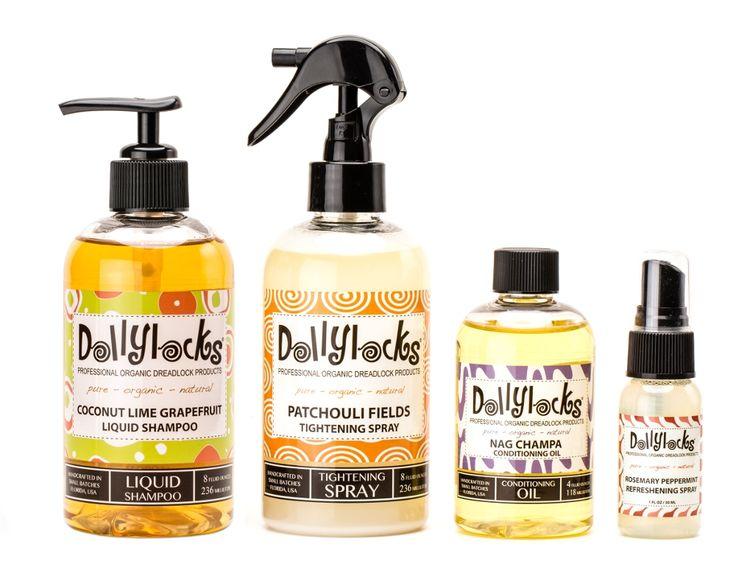 Mature Dreadlocks Care Set by Dollylocks Professional Organic Dreadlock Products