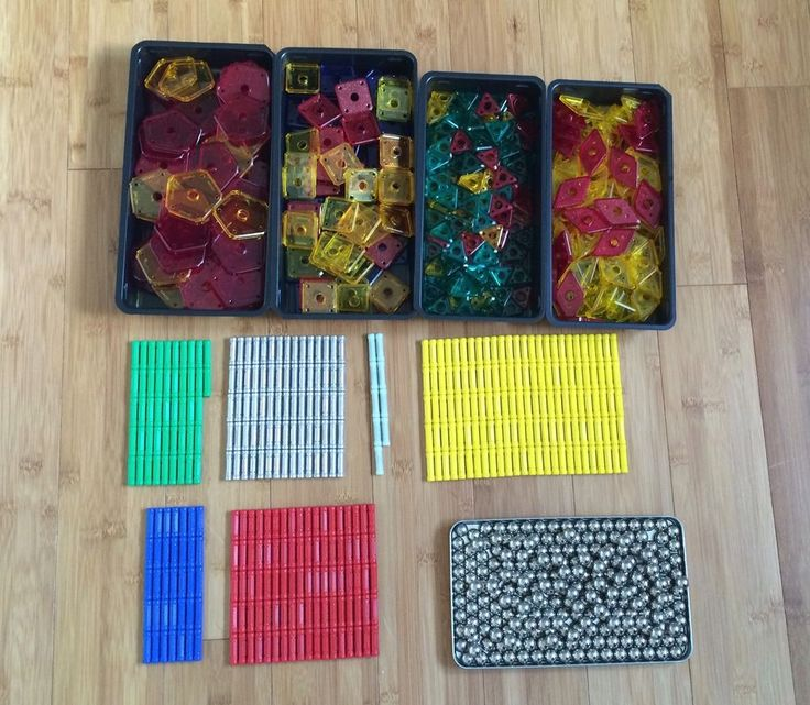 Geomag Geometric Mathematical Manipulatives (999 pieces)