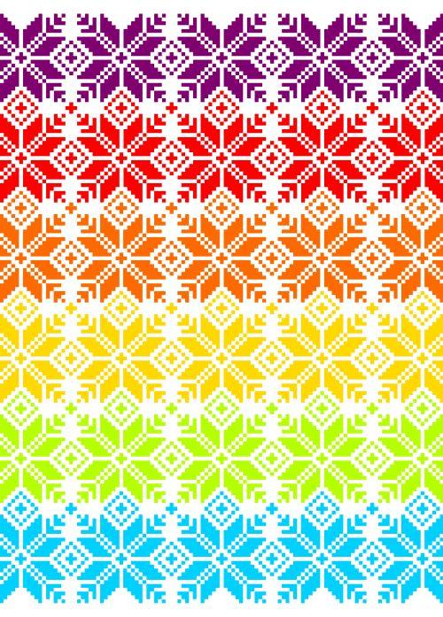 Colour! - Fair Isle patronen