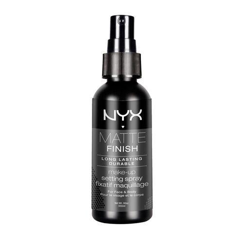 NYX Cosmetics Make Up Setting Spray, Matte Finish/Long Lasting, 2.03 Ounce