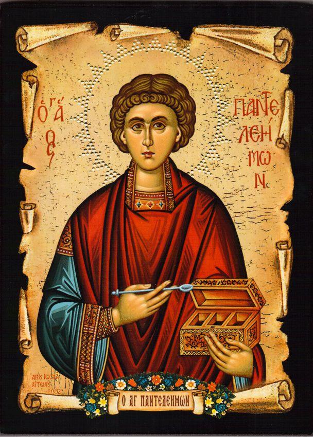 Saint Panteleimon, the Physician