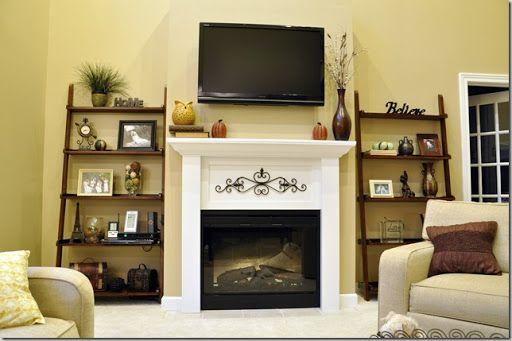 1000 Ideas About Shelf Above Tv On Pinterest Hanging Tv