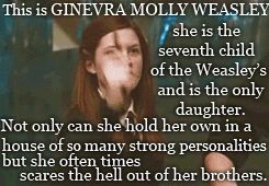 ginny weasley harry potter hp harry potter edits harrypotteredits* hardcore…