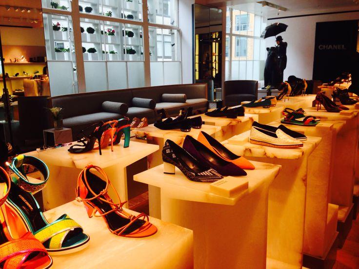 KINSA in London - Selfridges Shoe Department - OMG
