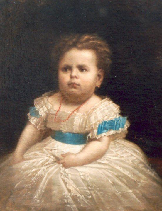 Gheorghe Tăttărescu - Marioara, fiica pictorului
